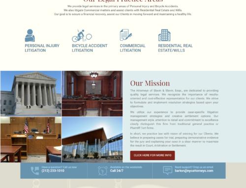 Slavin & Slavin Website