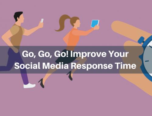 Go, Go, Go! Improve Your Social Media Response Time
